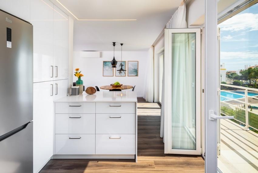 View kitchen-dining